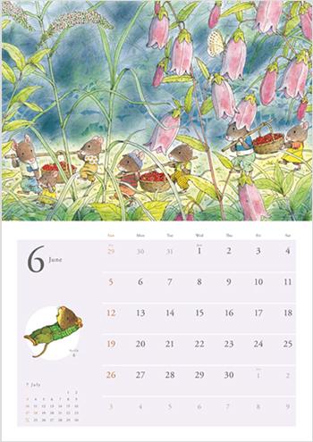 14ひきのカレンダー 2011