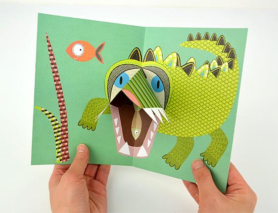ジャングル・ポップ(ポップアップカード)