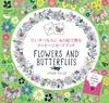たいせつな人にぬり絵で贈るメッセージカードブック FLOWERS AND BUTTERFLIES