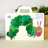 The Very Hungry Caterpillar with Plush�i�͂�؂������ނ� �ʂ�����ݕt���{�[�h�r�b�O�u�b�N�j