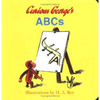 Curious George's ABCs [おさるのジョージ](洋書) ボードブック