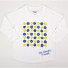 レオ・レオニ 七分袖Tシャツ 130cm あおくんときいろちゃん ホワイト