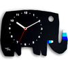 五味太郎 オリジナル時計  「黒いゾウ」