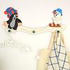 クルテク 木製ハンガーフック 雪遊び