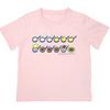 しろくまちゃん Tシャツ110cm ほっとけーき ピンク