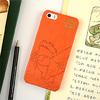 がまくんとかえるくん iPhone case (5/5s対応) がまくん/オレンジ