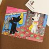 リサとガスパール ポストカード コート