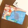 リサとガスパール ポストカード イルカ