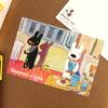 リサとガスパール ポストカード いたずら