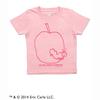 (90cm)はらぺこあおむし「SAKURA」Tシャツ(スケッチアップル)