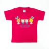 ルル・ロロ 130cmキッズT半袖Tシャツ ケイレイ(ホットピンク)