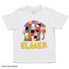 ぞうのエルマー 120cm Tシャツ ロゴ ホワイト