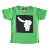 (100cm)コローロ キッズTシャツ ブライトグリーン