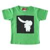 (110cm)コローロ キッズTシャツ ブライトグリーン