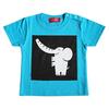 (90cm)コローロ キッズTシャツ ターコイズ