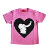 (90cm)コローロ キッズTシャツ ピンク