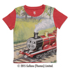 (120cm)きかんしゃトーマスTシャツ(ジェームス レッド)
