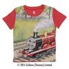 (130cm)きかんしゃトーマスTシャツ(ジェームス レッド)