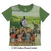 (130cm)きかんしゃトーマスTシャツ(パーシー グリーン)