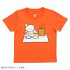 (100cm)しろくまちゃんのほっとけーき Tシャツ オレンジ