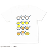 (100cm)しろくまちゃんのほっとけーき Tシャツ やけたかな ホワイト