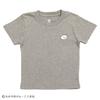 (90cm)しろくまちゃんのほっとけーき Tシャツ 刺繍 ヘザーグレー