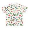 (L)tupera tupera Tシャツ くだものさん パターン