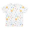 (M)tupera tupera Tシャツ かおノート サン パターン