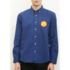 (L)tupera tupera 長袖シャツ 刺繍 かおノート サン
