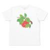 (L)tupera tupera Tシャツ くだものさん りんご