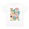 (M)tupera tupera Tシャツ 鳥と花