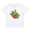 (110)tupera tupera Tシャツ くだものさん りんご
