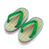 (19cm)ケンコーミサトっ子 草履 緑