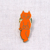 トムズボックス謹製ピンバッジ 猫(長新太)