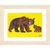 キャラファインB5 エリックカール Bear Baby book mamabear 「熊の親子」