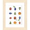 キャラファインA5 エリックカール Foodgrid「食べ物いろいろ」