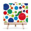 キャンバス&イーゼルセットF3 エリックカール pattern dots 「パターンドット」