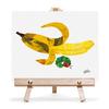 キャンバス&イーゼルセットF3 エリックカール Banana 「バナナ」