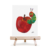 キャンバス&イーゼルセットF3 エリックカール Apple 「りんご」