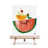 キャンバス&イーゼルセットF3 エリックカール Fruit pose 「フルーツ」