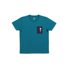(S)五味太郎 Tシャツ がいこつさん 刺繍