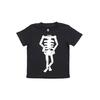(130)五味太郎 Tシャツ がいこつさん