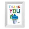 キャラファインミニ エリックカール Party cupcake blue 「カップケーキブルー」