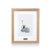【先着20名様限定:メタリックプレート付限定額装】ミストグラフ版画 レオ・レオニ 「フレデリック」