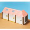 HACO ROOM くまのがっこうベースパーツ  赤い屋根キット