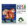 2018 エリック・カール 壁掛けカレンダー(シール付き)