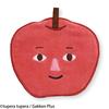 tupera tupera×フェリシモ くだものさん もぎたてミニタオル りんごさん