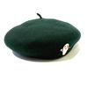 (L)ねないこだれだ おばけベレー帽 グリーン