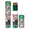 ヒグチユウコ 色鉛筆15色セット 緑