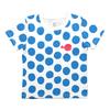 (100)五味太郎 Tシャツ きんぎょがにげた  ドット